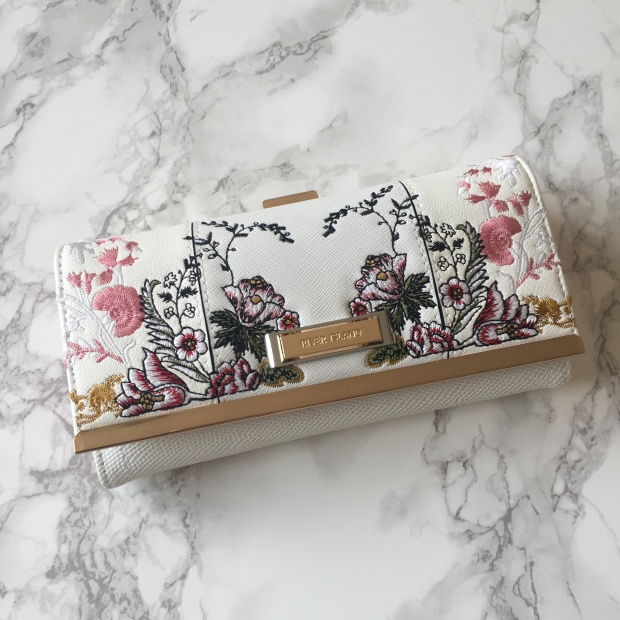 River Island Embroidered Purse